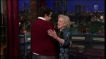Late Show with David Letterman Betty White, Kim & Kourtney Kardashian, the Script