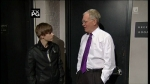 Late Show with David Letterman Justin Bieber, Pauley Perrette, Best Coast