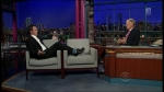 Late Show with David Letterman Matthew Perry, Chris Elliott, a Top Ten List presented by Mitt Romney, the National