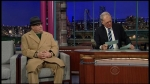 Late Show with David Letterman Adam Sandler, Chris Colfer, Ty Burrell, Gang of Four