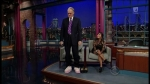 "Late Show with David Letterman Nicole ""Snooki"" Polizzi, Bryan Ferry"