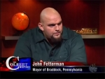 The Colbert Report John Fetterman
