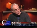 The Colbert Report Mark Bittman