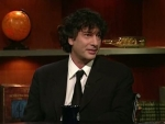 The Colbert Report Jonathan Chait, Neil Gaiman