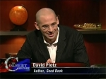 The Colbert Report David Plotz