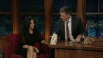 The Late Late Show with Craig Ferguson Courtney Cox, Louie Anderson