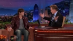 The Tonight Show with Conan O'Brien Ashton Kutcher, Charlyne Yi, Gomez