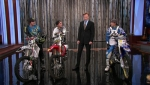 The Tonight Show with Conan O'Brien Freestyle Motocross athletes, Jon Hamm, Cobra Starship with Estelle