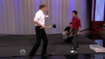 The Tonight Show with Conan O'Brien Charlize Theron, stuntman Steven Ho, Dave Matthews Band