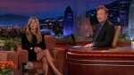 The Tonight Show with Conan O'Brien Jennifer Aniston, Melanie Oudin, Phoenix
