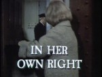 01x04 - In Her Own Right