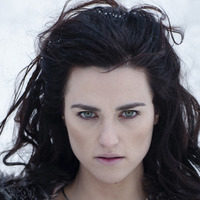Morgana played by Katie McGrath