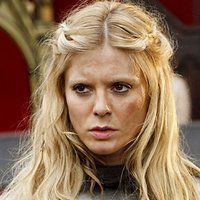 Morgause played by Emilia Fox