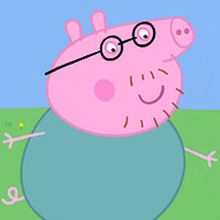 Daddy Pig played by Richard Ridings
