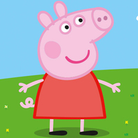 Peppa Pig played by Lily Snowden-Fine
