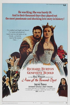 Anne of the Thousand Days movie poster