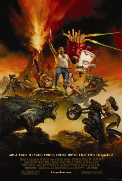 Aqua Teen Hunger Force Colon Movie Film for Theaters movie poster