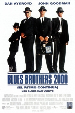 Blues Brothers 2000 movie poster