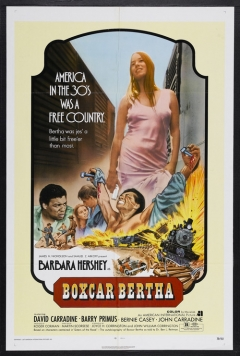 Boxcar Bertha movie poster