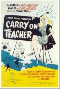 Carry On Teacher movie poster