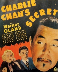 Charlie Chan's Secret movie poster