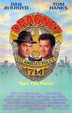 Dragnet movie poster