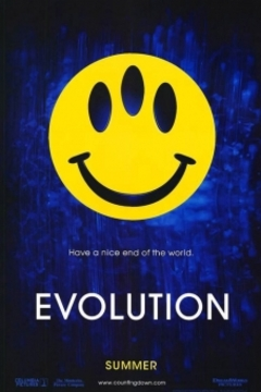 Evolution movie poster