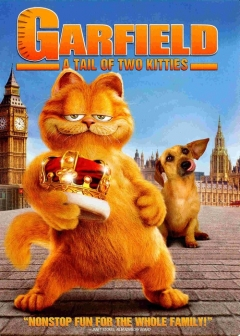 Garfield 2: A Tail of Two Kitties movie poster