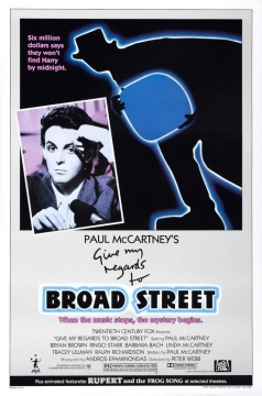 Give My Regards to Broad Street movie poster