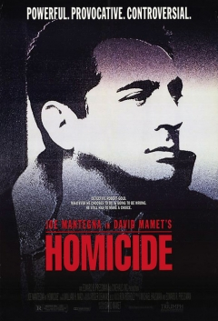 Homicide movie poster