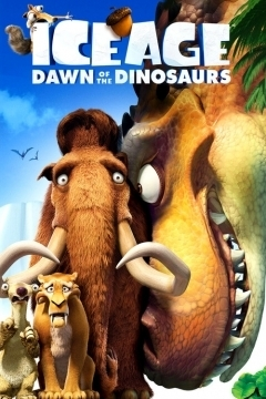 Ice Age: Dawn of the Dinosaurs movie poster