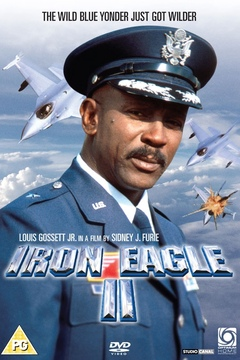 Iron Eagle II movie poster