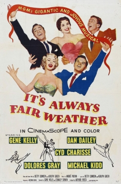 It's Always Fair Weather movie poster