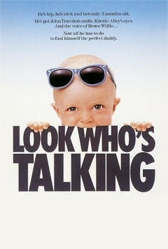 Look Who's Talking movie poster