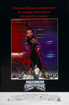 Maximum Overdrive movie poster