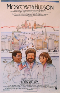 Moscow on the Hudson movie poster