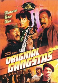 Original Gangstas movie poster