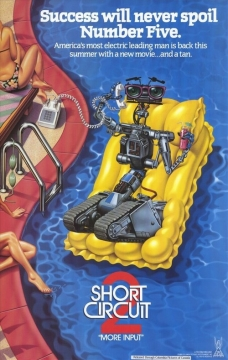 Short Circuit 2 movie poster