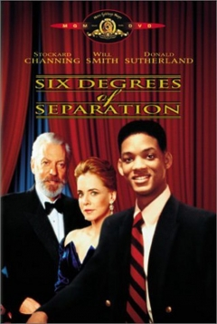 Six Degrees of Separation movie poster