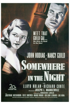 Somewhere in the Night movie poster