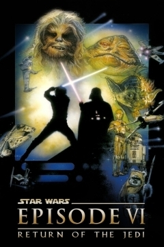 Star Wars: Episode VI: Return of the Jedi movie poster