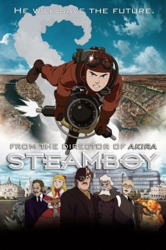 Steamboy movie poster