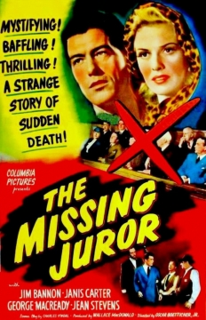 The Missing Juror movie poster