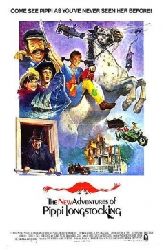 The New Adventures of Pippi Longstocking movie poster