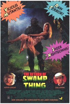 The Return of Swamp Thing movie poster