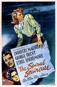 The Spiral Staircase movie poster