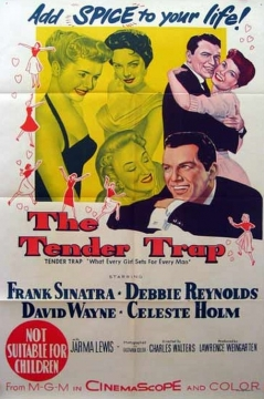 The Tender Trap movie poster