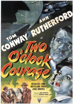 Two O'Clock Courage movie poster