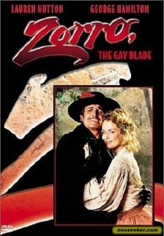 Zorro, The Gay Blade movie poster