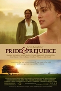 Pride & Prejudice movie poster